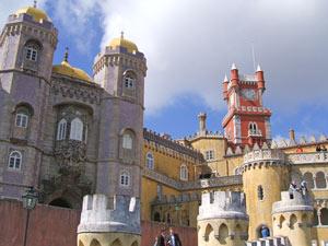 Palacio da Pena bei Sintra - Portugal individuell