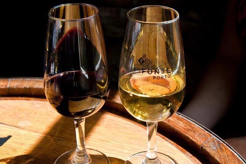 Warum nach Portugal reisen? Douri Weingläser
