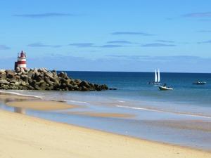 Strand bei Tavira an der Algarve
