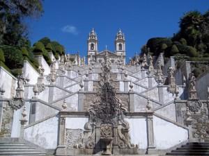 Wallfahrtskirche Bom Jesus bei Braga - Nordportugal