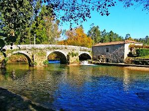 Brücke im Nationalpark Penede-Gerês