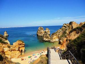entspannen an den Traumstränden der Fels-Algarve