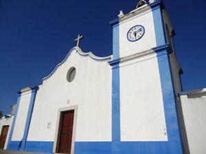 Milfontes - Kirche im Ortskern