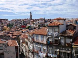 Porto Reise mit Sicht auf die Altstadt La Ribeira