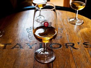 Porto-Portwein-Weinkeller