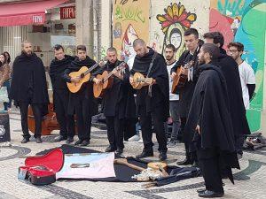 Fado Sänger in Porto