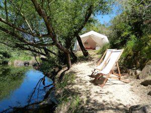 Glamping-Zelt-Wasser-Alentejo-Portugal