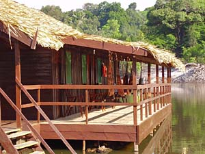 brazilie amazone lodge kamer