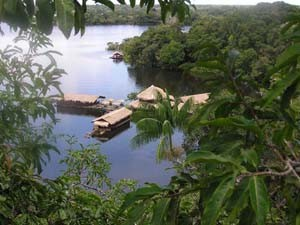 brazilie amazone lodege