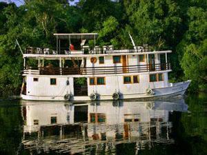 Amazone stroomopwaarts
