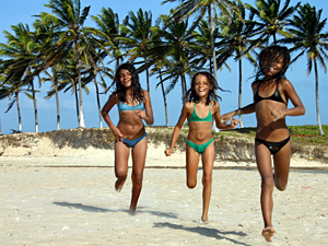 brazilie regio strand