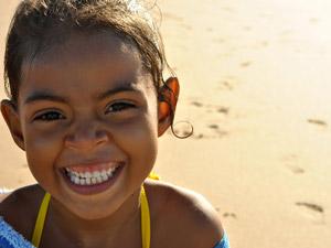 brazilie strand meisje