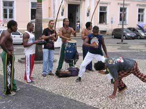 brazilie capoeira band dans
