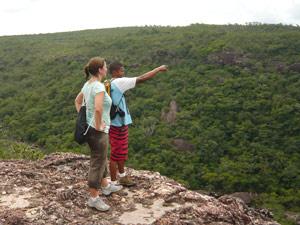 brazilie chapada gids uitzicht