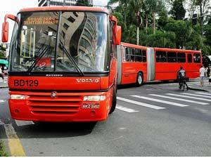 brazilie curitiba bus