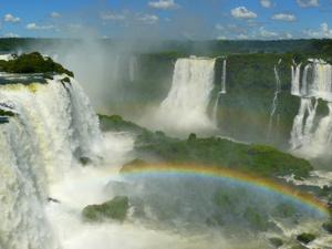 foz do iguacu waterval regenboog