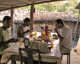 brazilie homestay ontbijt