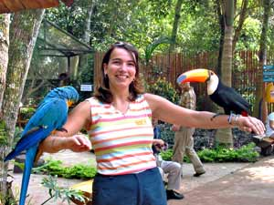 brazilie iguacu birdpark