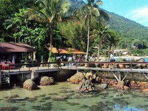 brazilie ilha grande dorp