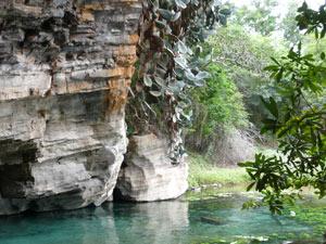brazilie lencois blauwe grot
