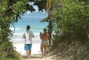rondreis Zuid Brazilië - strand