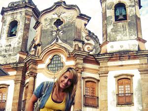 brazilie ouro preto kerk