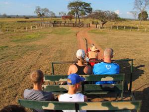 brazilie pantanal tractor