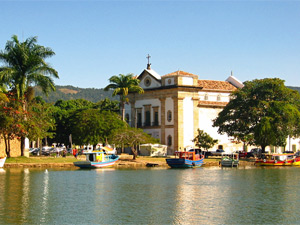 brazilie paraty haven kerk