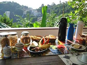 brazilie santa teresa ontbijt