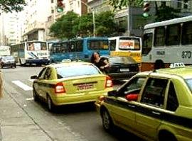 Taxi Rio Brazilie