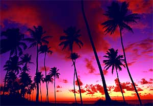 zonsondergang brazilie