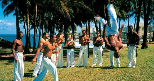Reis Brazilië: capoeira