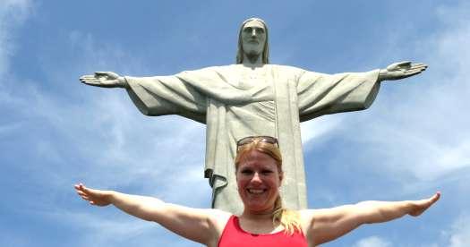 Reis Rio de Janeiro: Christus Beeld