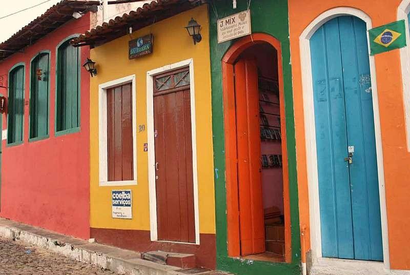 Brazilie reis - kleurrijk Lencois