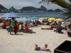 Copacabana met kinderen