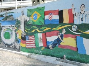 Brazilië Rio voetbal