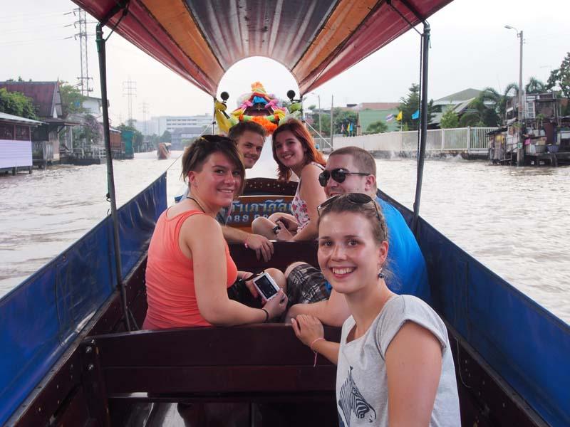 Bootstour über den Chao Phraya Fluss
