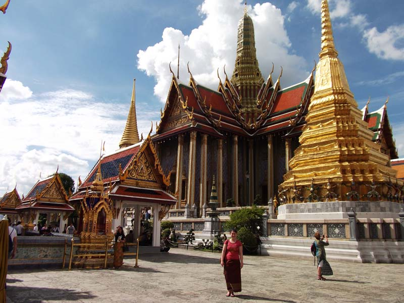 Der Grand Palace in Bangkok
