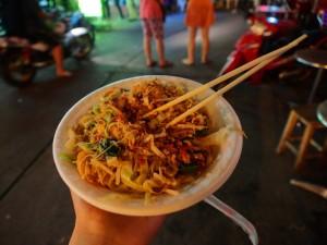 Probieren Sie köstliches Streetfood in Bangkok
