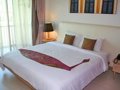 Komfortables Zimmer mit Balkon