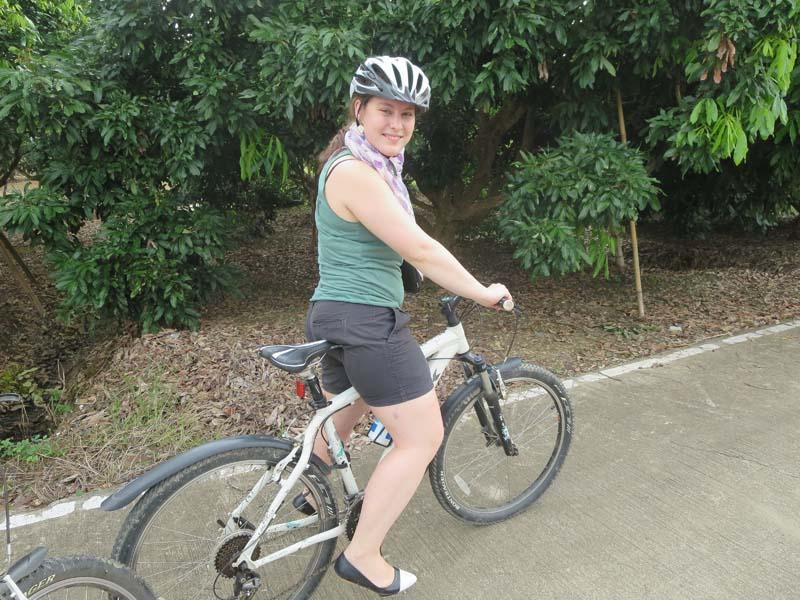 Mit dem Rad entdecken Sie die ländliche Region um Chiang Mai