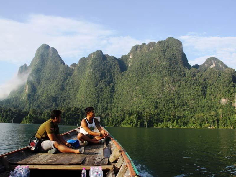 Blick auf den Khao Sok Nationalpark