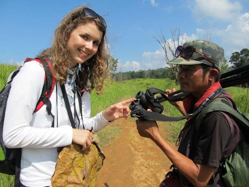 Auf Tierbeobachtung im Khao Yai Nationalpark