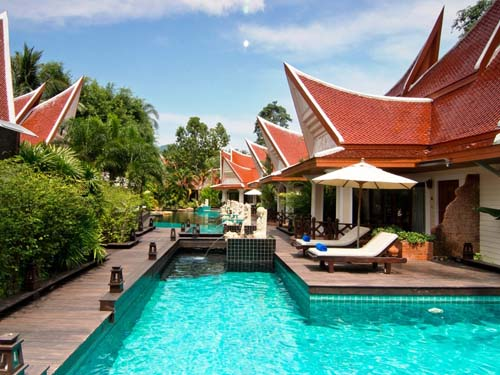 Pool im Hotel auf Koh Chang