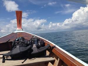 Bootsausflug in Thailand
