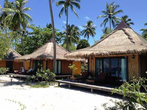 Bungalow direkt am Strand von Koh Mook