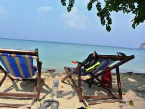 Entspannen Sie unter der Sonne Thailands am Strand von Koh Ngai