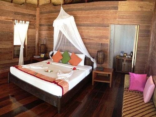 Stimmungsvolles Zimmer auf Koh Ngai