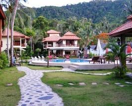 Komfortable Hotelanlage auf Koh Phangan
