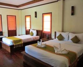Komfortables Zimmer auf Koh Phangan